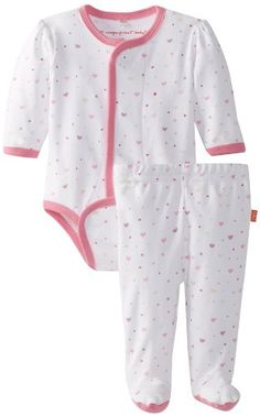 Magnificent Baby Baby-Girls Newborn Long Sleeve Burrito and Pants Set $19.95 (32% OFF)