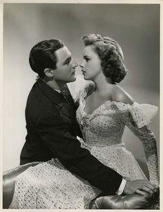 Gene Kelly and Judy Garland, 1940s.
