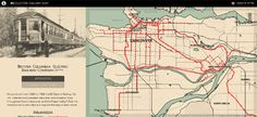 Maps Mania: The Vintage Vancouver Railway Map