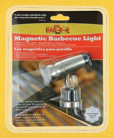 "Win a Mr. Bar-B-Q® Magnetic Barbecue Light! ""Like"" this post on our Facebook page at https://www.facebook.com/BlueRhino. Winner announced on 10/21."