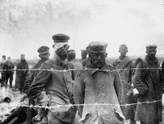 1914 1918 - Prisonniers allemands, 1916