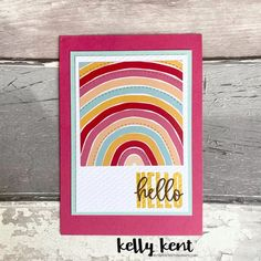 What a Year Memories & More – kelly kent Embossing Folder, Chicago Cubs Logo, Stripes, Stamp, Rainbow, Colours, Memories, Projects, Blog