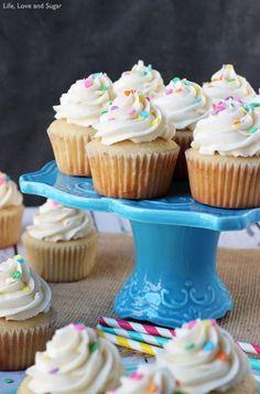 The Perfect Moist Fluffy Vanilla Cupcakes! So good!        Unsalted butter, add 3/4 t salt