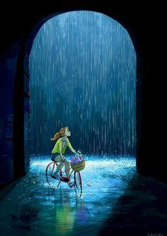 Ohh dat rain!
