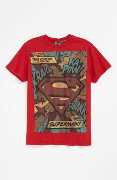 United Colors of Benetton Kids 'Comic Book' T-Shirt (Big Boys) | Nordstrom