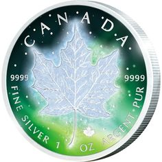Catawiki online auction house: Canada - 5 Dollar 2016 Frozen Maple Leaf - 1 Oz - Silver Coin Auctions, One Coin, 1 Oz, Silver Coins, Real Life, Congratulations, Frozen, Canada, Prints