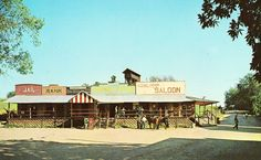 Part of Main Street,Frontier City - Onsted,Michigan