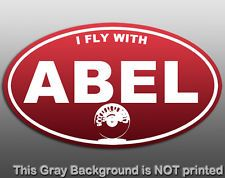 I fly with Abel #names