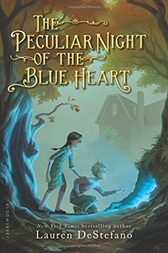 I won a free copy of The Peculiar Night of the Blue Heart By: Lauren DeStefano in a Twitter giveaway!  #ThanksSoMuch!