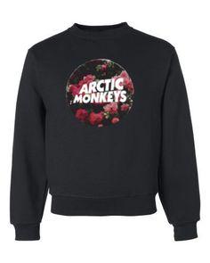 Arctic Monkeys Roses Crewneck Sweatshirt