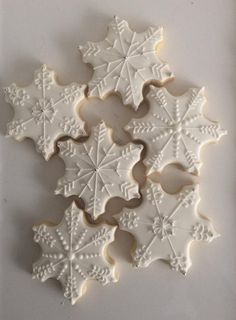 Your place to buy and sell all things handmade Snowflake Sugar Cookies Christmas Biscuits, Christmas Sugar Cookies, Holiday Cookies, Holiday Baking, Christmas Desserts, Christmas Baking, Christmas Christmas, Snowflake Cookies, Star Cookies
