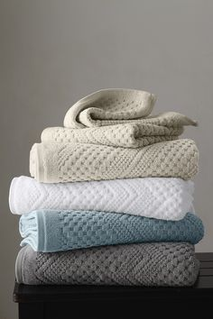Chateau Cotton Towels-i would love to chew on these!