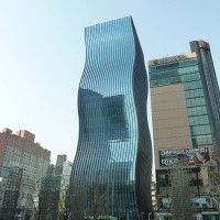 ArchitectenConsort have completed the GT Tower East in Seoul, South Korea.