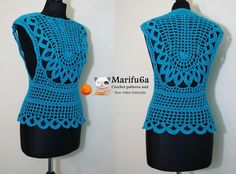 Looking for your next project? You're going to love crochet easy top all sizes by designer marifu6a.