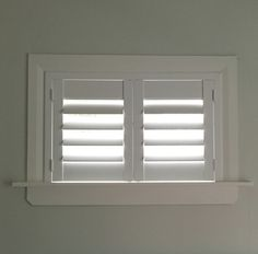 High Quality Basement Window Blinds 3 Small Shutters For