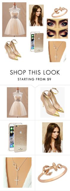 """Untitled #24"" by maya-1999s on Polyvore featuring Balmain, Kate Spade, Forever 21 and Amorium"