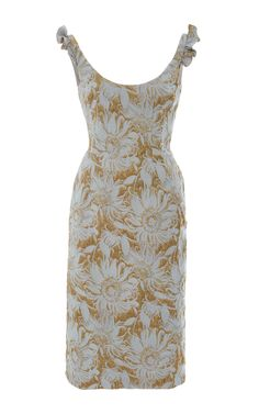 Daisy Pencil Dress by BROCK COLLECTION Now Available on Moda Operandi