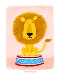 Lion Illustration                                                       …