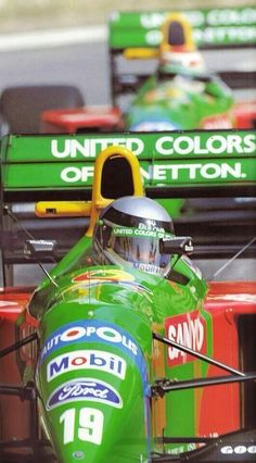 Alessandro Nannini & Nelson Piquet, Benetton-Ford, Monaco GP, 1990. #Formula1 #F1