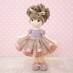 FREE SHIPPING Amigurumi crochet doll Gorgeous by BubblesAndBongo