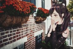 Oppressed and Animed Anime Art Girl, Anime Girls, Real Anime, Cool Anime Wallpapers, Anime Artwork, Kawaii Cute, The Real World, Oppression, Aesthetic Wallpapers