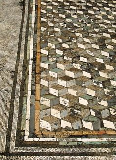 99 Gorgeous Mosaic Floor Design for Makeover Your Home - Savvy Ways About Things Can Teach Us Floor Patterns, Tile Patterns, Textures Patterns, Mosaic Art, Mosaic Tiles, Tiling, Mosaic Floors, Flooring Tiles, Tile Floor