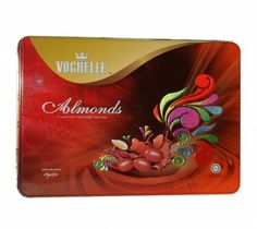 Vochelle Almonds With Dairy Milk Chocolate Tin 325g at Rs.550 online in India.