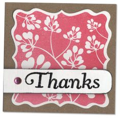 M Card thanks