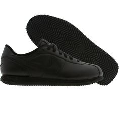 watch d0791 77e13 Nike Cortez Basic Leather (black  black) Fastest shoes I have ever had.