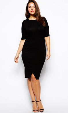 LITTLE BLACK DRESS SIZE 14 - Nasha Bendes