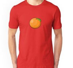 'Fruit Collection - Orange' T-Shirt by manfex Indie Art, Orange Design, Tshirt Colors, Chiffon Tops, Heather Grey, Classic T Shirts, Unisex, Fruit, Mens Tops