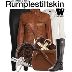 Inspired by Robert Carlyle as Rumplestiltskin on Once Upon a Time.