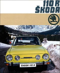 Škoda 1976 Automotive Furniture, Automotive Design, Volkswagen Group, Illustrations And Posters, Car Pictures, Vintage Ads, Cars And Motorcycles, Classic Cars, Automobile