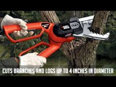 Black&Decker Alligator Lopper Amp Electric ChainSaw Branch Cutter New Garden Loppers, Lawn And Garden, Garden Tools, Best Chainsaw, Power Saw, Chainsaws For Sale, Electric Chainsaw, Tool Sheds, Modern Man