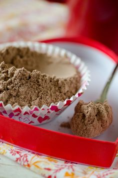 DIY Hot Chocolate:    3 cups nonfat dry milk powder--      2 cups powdered sugar--      1 1/2 cups unsweetened cocoa powder--      1 1/2 cups white chocolate chips--      1/4 teaspoon salt