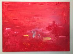 Red news  Oil and acrylic on canvas 60 x 50'