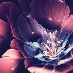 Simply Creative: Fractal Flowers by Silvia Cordedda