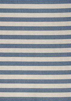 Tapis de couleur bleu et blanc / Blue and white carpet