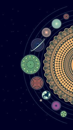 art wallpaper 40 Mandala Vorlagen - Mandala z - art Psychedelic Art, Free Printable Sticker, Phone Backgrounds, Wallpaper Backgrounds, Wallpaper Desktop, Trippy Iphone Wallpaper, Planets Wallpaper, Wallpaper Space, Mobile Wallpaper