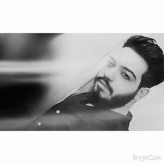 #Me #Man #Beard #Hair #BlackAndWhite #Photography