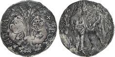 NumisBids: Numismatica Varesi s.a.s. Auction 65, Lot 315 : FIRENZE - REPUBBLICA (Sec. XIII-1532) Barile da 10 Soldi, simbolo...