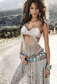 Bohemian Chic i wish i could pull this off