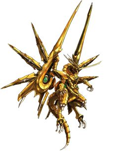 Bahamut Fury from Crisis Core: Final Fantasy VII