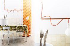 Rolig lösning på belysning... jag gillar! (vad är det med mig och lampor egentligen...? :)