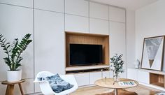 Living Room Tv Cabinet, Ikea Living Room, Living Room Storage, Living Rooms, Living Place, Home And Living, Small Apartments, Small Spaces, Kitchen Dinning Room