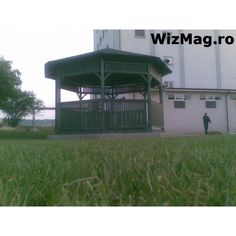 Foisor rustic octogonal Curtea de Arges Gazebo, Outdoor Structures, Rustic, Outdoor Decor, Home Decor, Italia, Country Primitive, Kiosk, Decoration Home