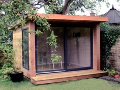 Expression garden room with sliding door set, from (inc. Backyard Cabin, Backyard Office, Backyard Studio, Garden Office, He Shed She Shed, Patio Tropical, Garden Pods, Gazebo, Pergola