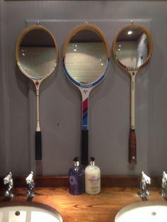 Squash Racket Mirrors