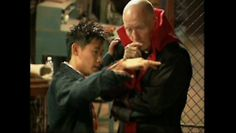 James Wan and Tobin Bell
