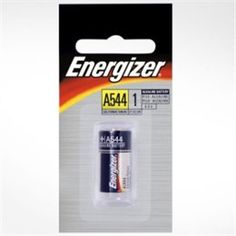 Energizer A544bp Alkaline Battery Px28a 4lr44 Carded Electronic Devices Headphones